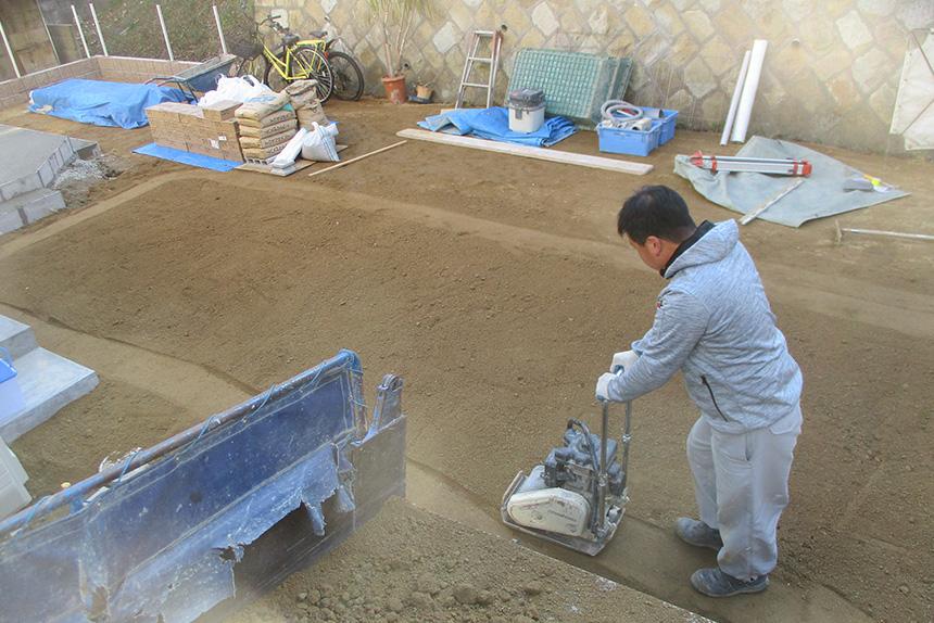 神戸市垂水区 S様邸の施工中の様子7