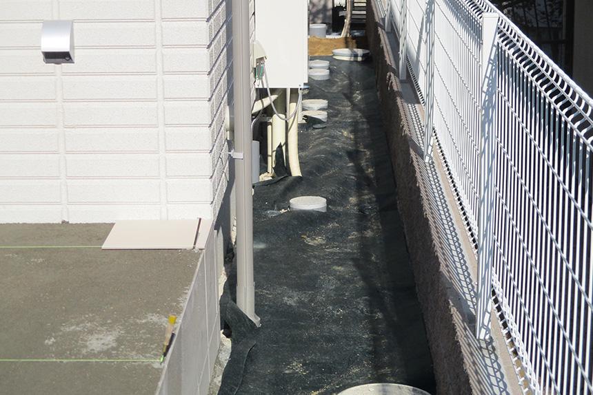 神戸市垂水区 S様邸の施工中の様子8