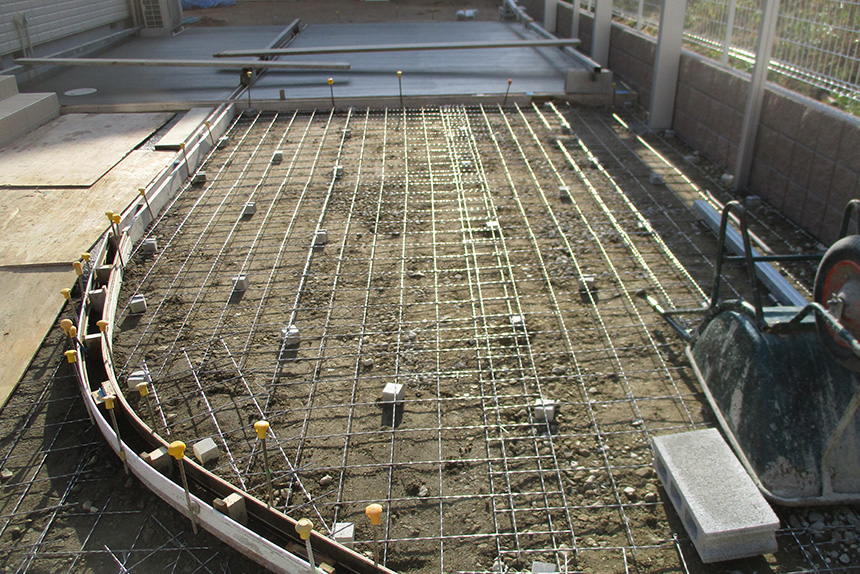 神戸市垂水区 S様邸の施工中の様子13