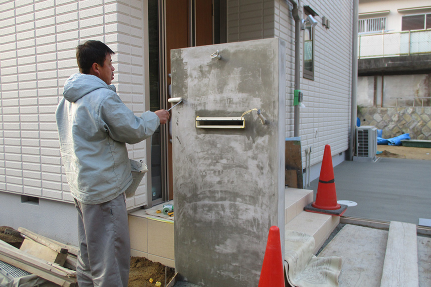 神戸市垂水区 S様邸の施工中の様子14