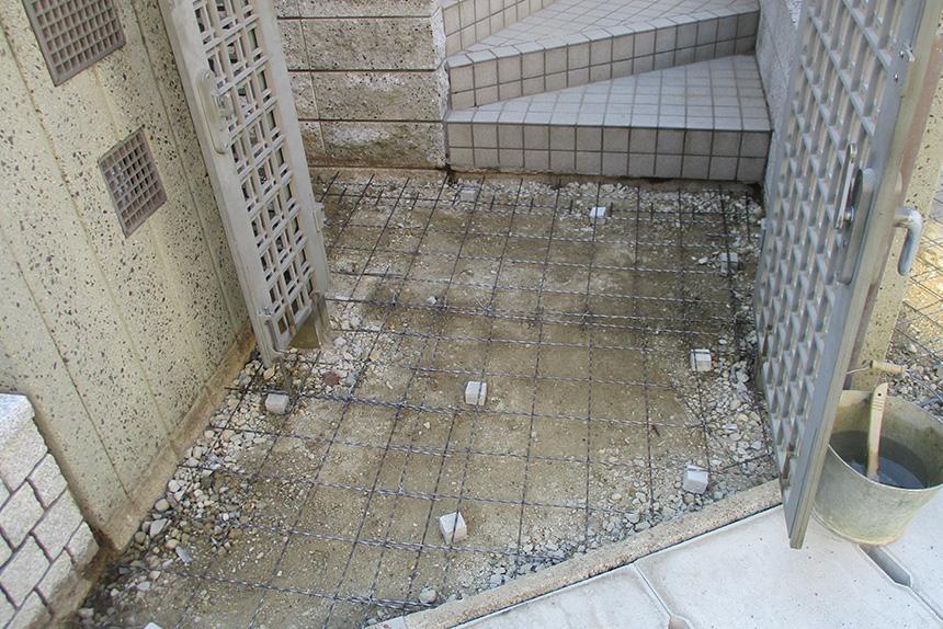 神戸市須磨区 T様邸の施工中の様子10