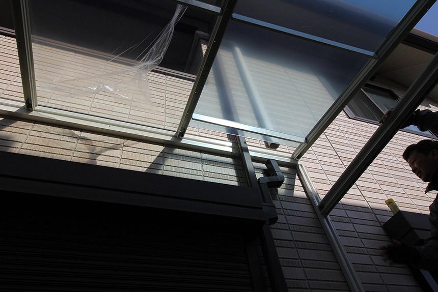 神戸市垂水区 S様邸の施工中の様子3