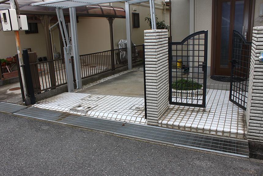 神戸市垂水区 I様邸の作業中写真1