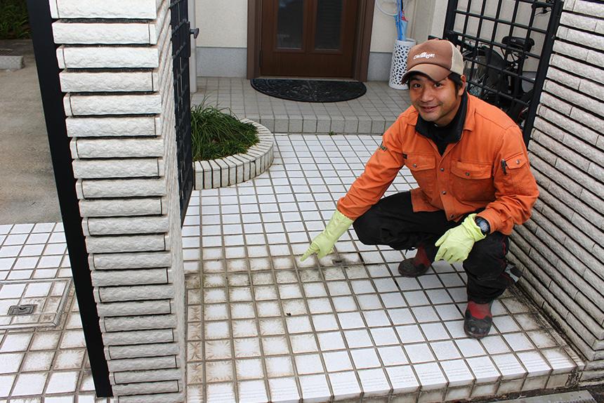 神戸市垂水区 I様邸の作業中写真3