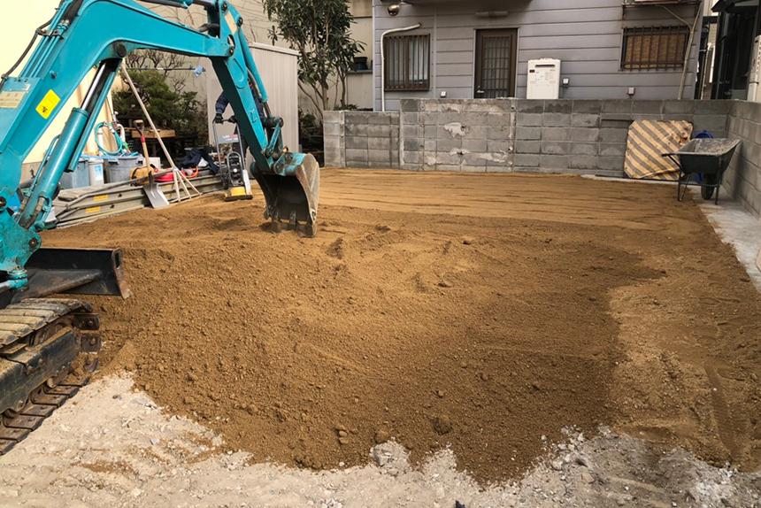 神戸市垂水区M様邸の施工中写真10