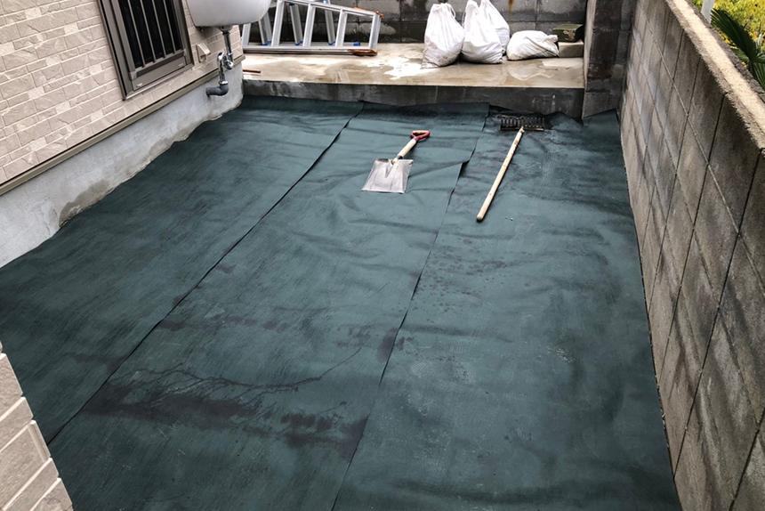神戸市須磨区 I様邸の施工中写真2