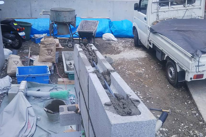 神戸市須磨区 H様邸の施工中写真4