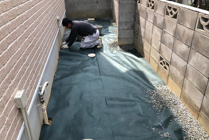 神戸市須磨区 H様邸の施工中写真13