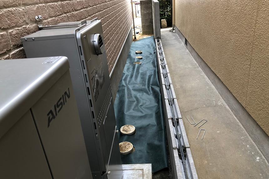神戸市須磨区 H様邸の施工中写真14