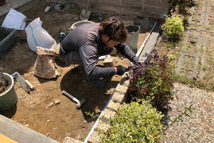 神戸市垂水区 F様邸の施工中写真4
