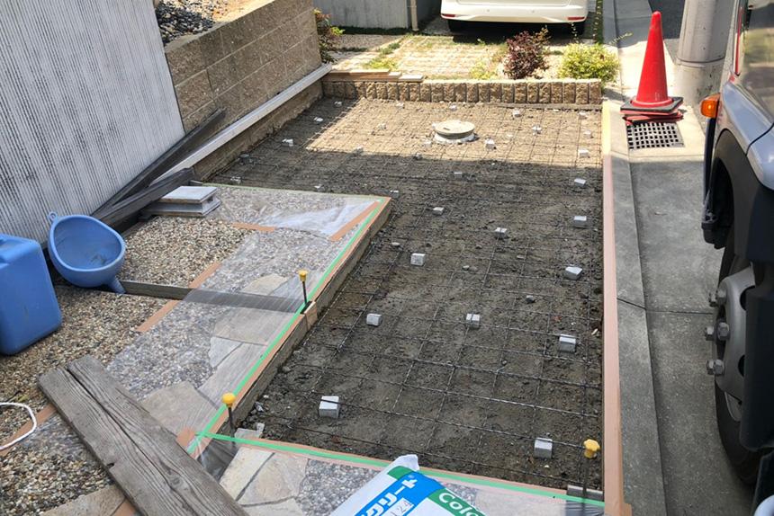 神戸市垂水区 F様邸の施工中写真5