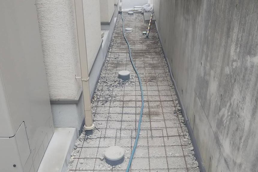 神戸市垂水区 F様邸の施工中写真9