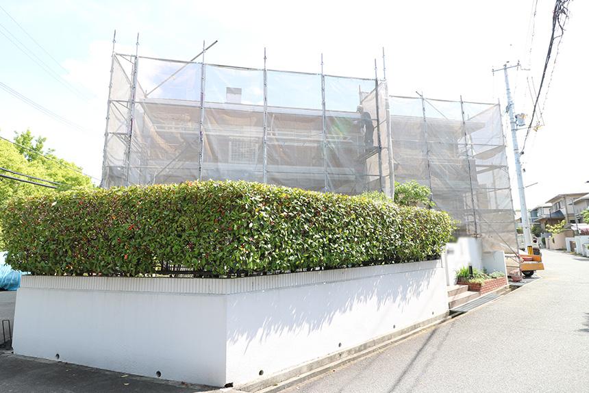 神戸市西区M様邸の施工写真1
