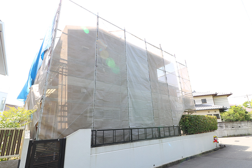 神戸市西区M様邸の施工写真2