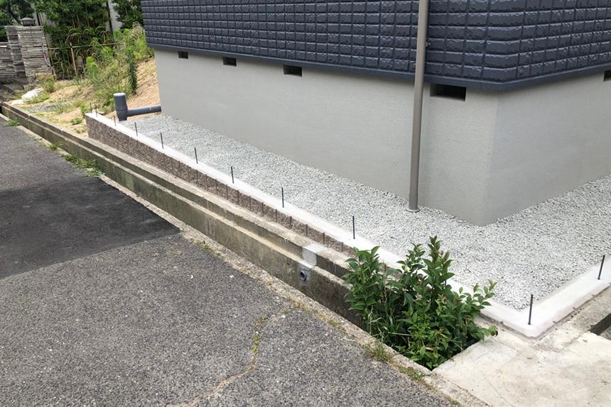 神戸市垂水区 T様邸の施工中写真7