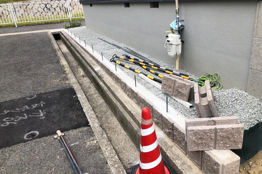 神戸市垂水区 T様邸の施工中写真8