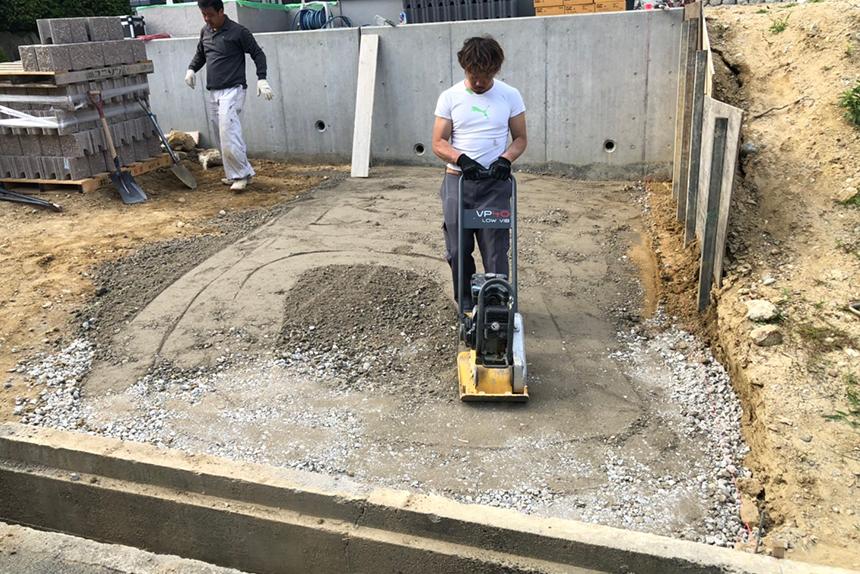 神戸市垂水区 T様邸の施工中写真9
