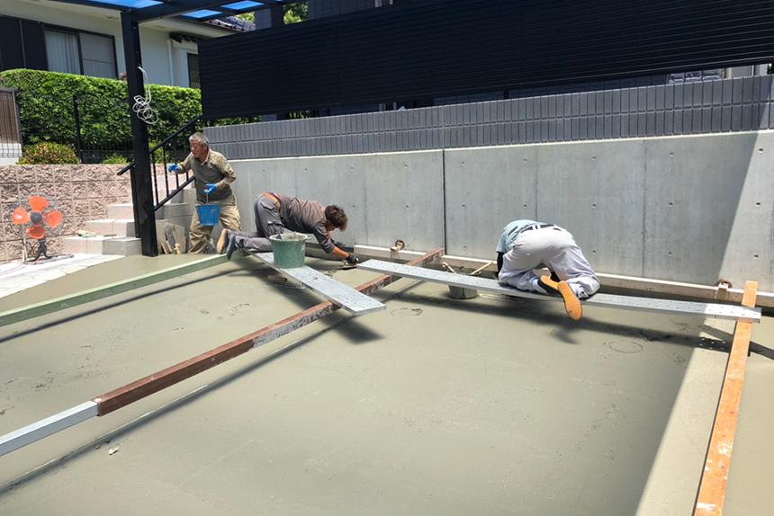 神戸市垂水区 T様邸の施工中写真1