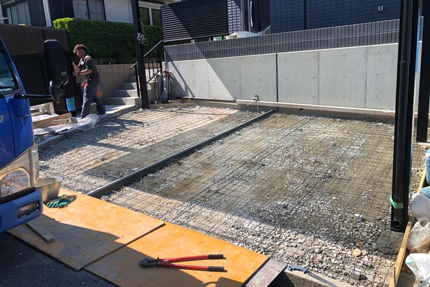 神戸市垂水区 T様邸の施工中写真2