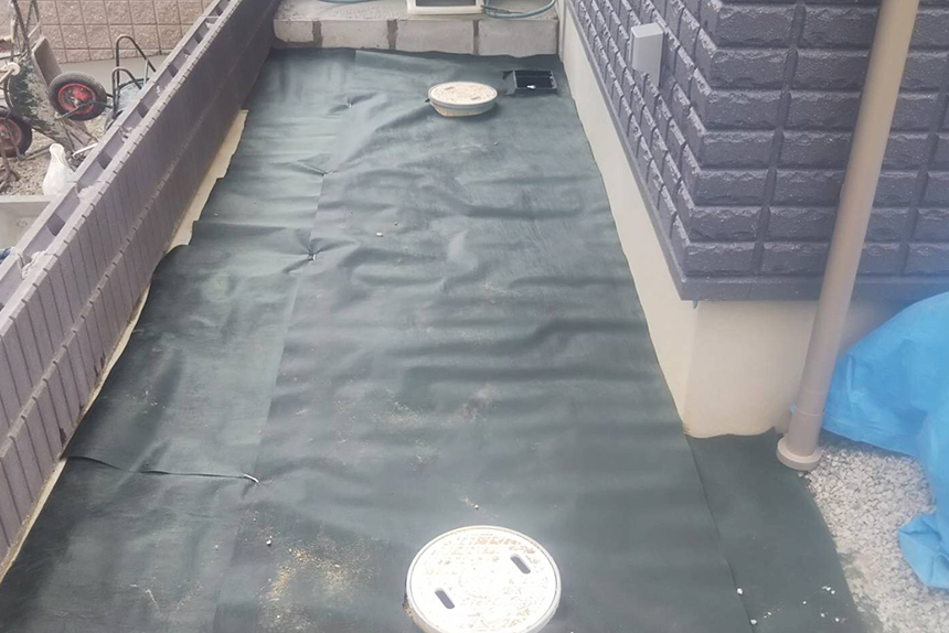 神戸市垂水区 T様邸の施工中写真5