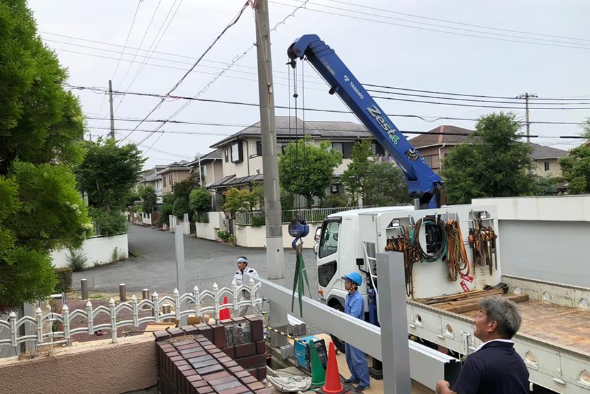 神戸市西区T様の施工中写真3