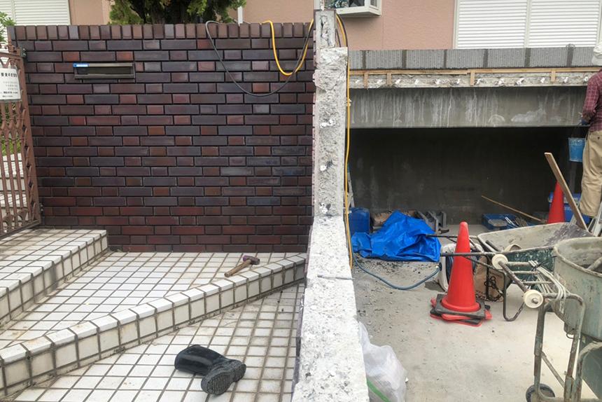 神戸市西区T様の施工中写真4