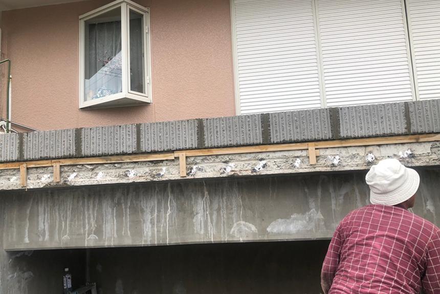 神戸市西区T様の施工中写真5