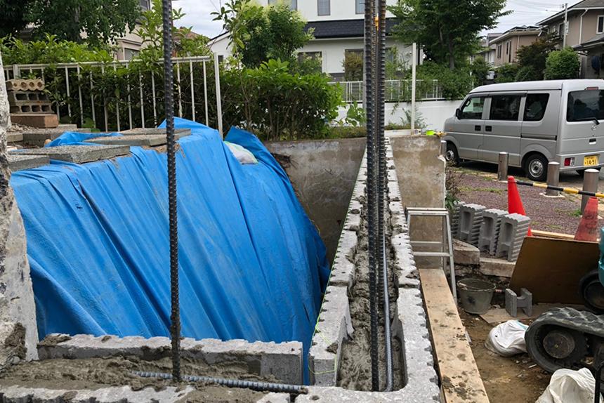神戸市西区T様の施工中写真9