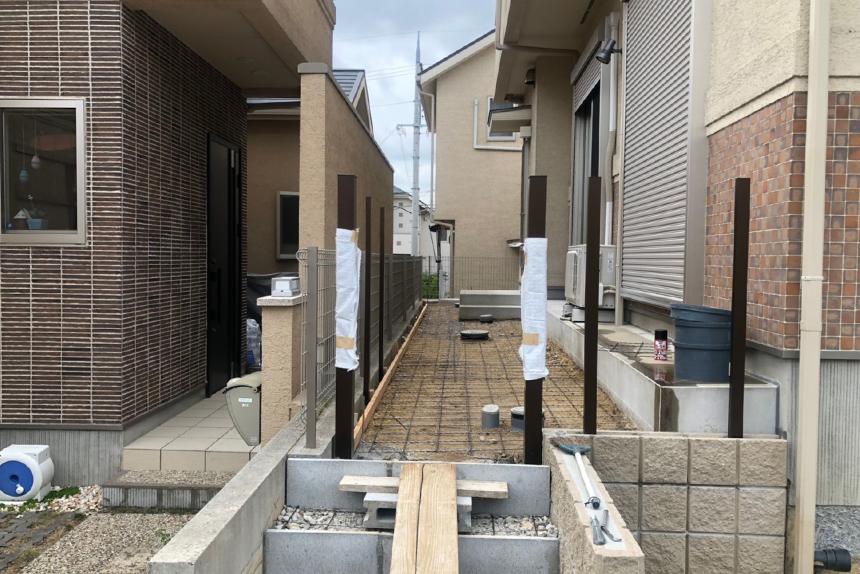 神戸市垂水区 T様邸の施工中写真4