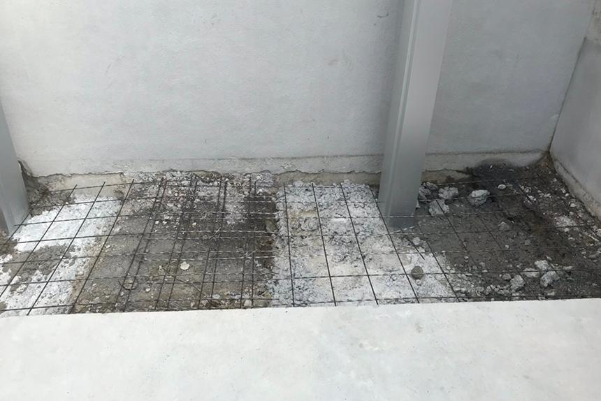 神戸市須磨区 A様邸の施工中写真6
