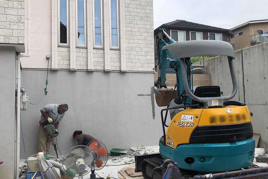 神戸市須磨区 A様邸の施工中写真8