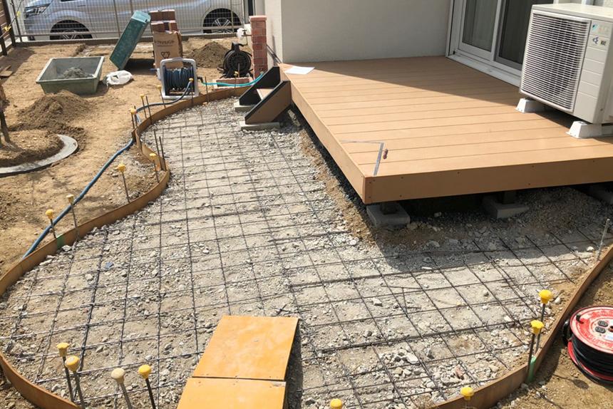 神戸市垂水区 S様邸の施工中写真7