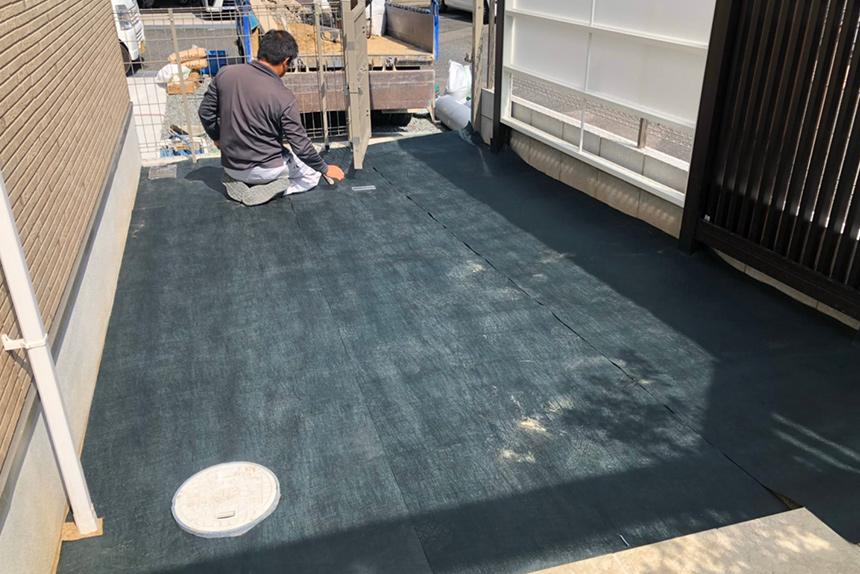 神戸市垂水区 S様邸の施工中写真3