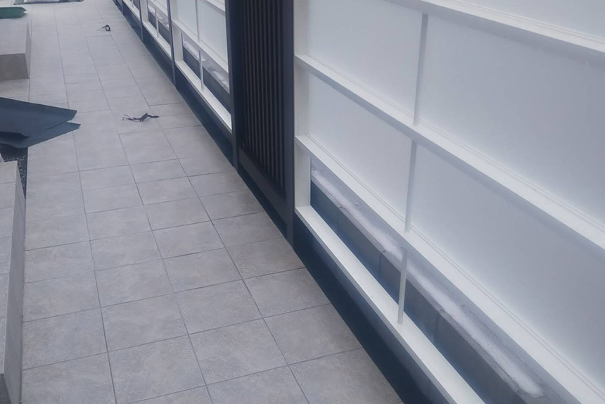 神戸市垂水区 S様邸の施工中写真8