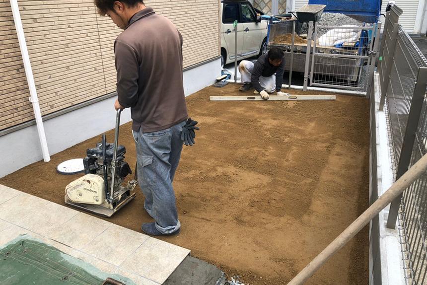 神戸市垂水区 S様邸の施工中写真11