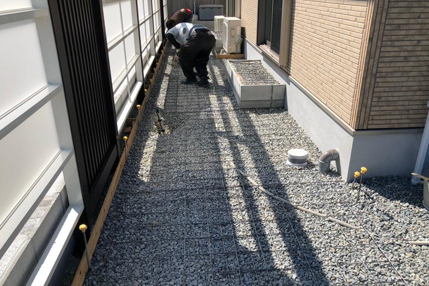 神戸市垂水区 S様邸の施工中写真13
