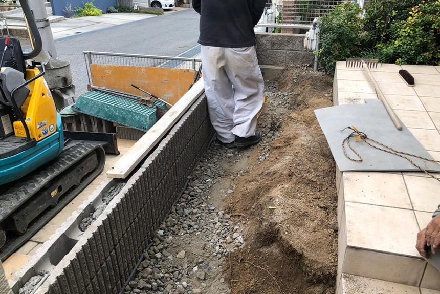 神戸市西区F様邸の施工中写真8