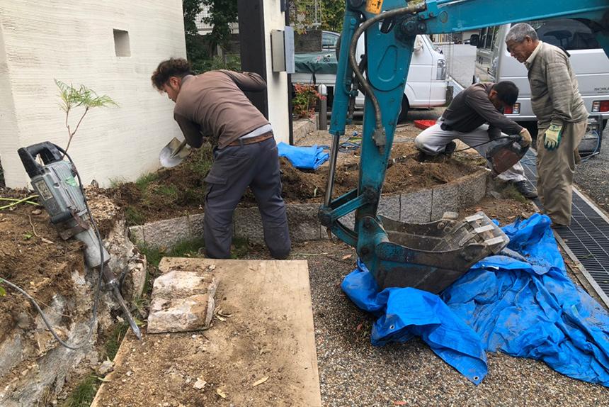 神戸市西区F様邸の施工中写真23