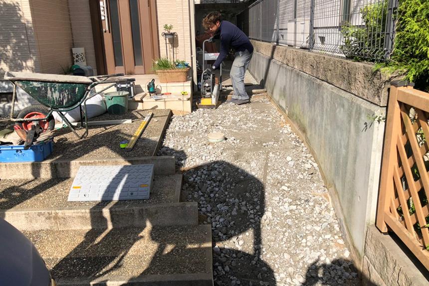 神戸市西区H様邸の施工中写真8