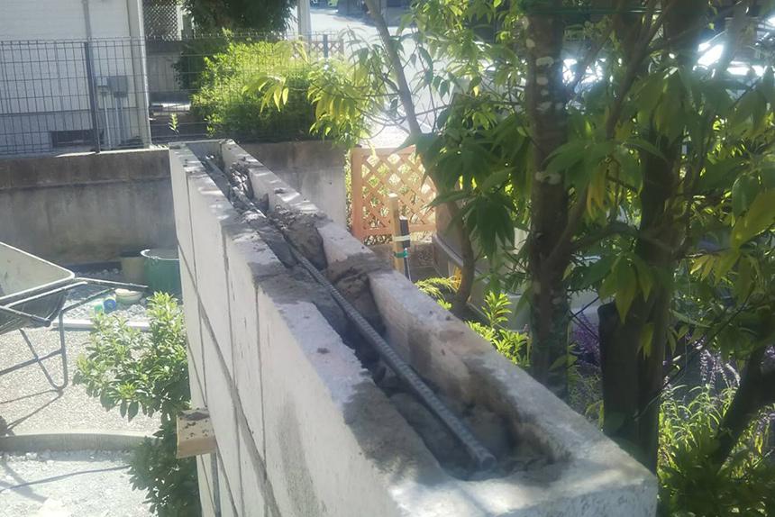 神戸市西区H様邸の施工中写真10