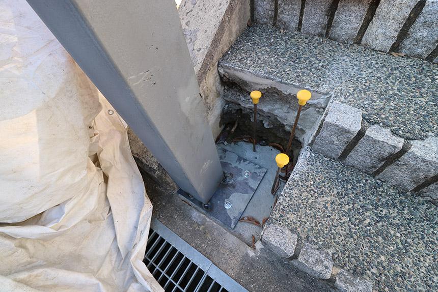 神戸市北区 I様邸の施工中写真2
