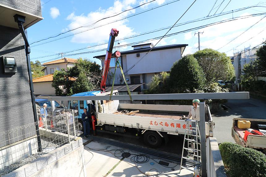 神戸市北区 I様邸の施工中写真7