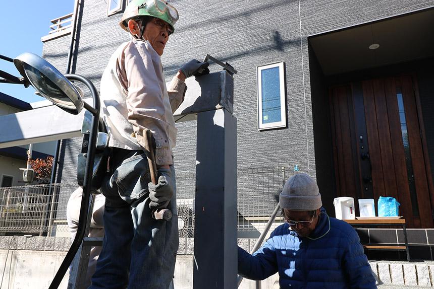 神戸市北区 I様邸の施工中写真11