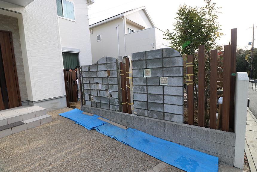 神戸市西区 T様邸の施工中写真1