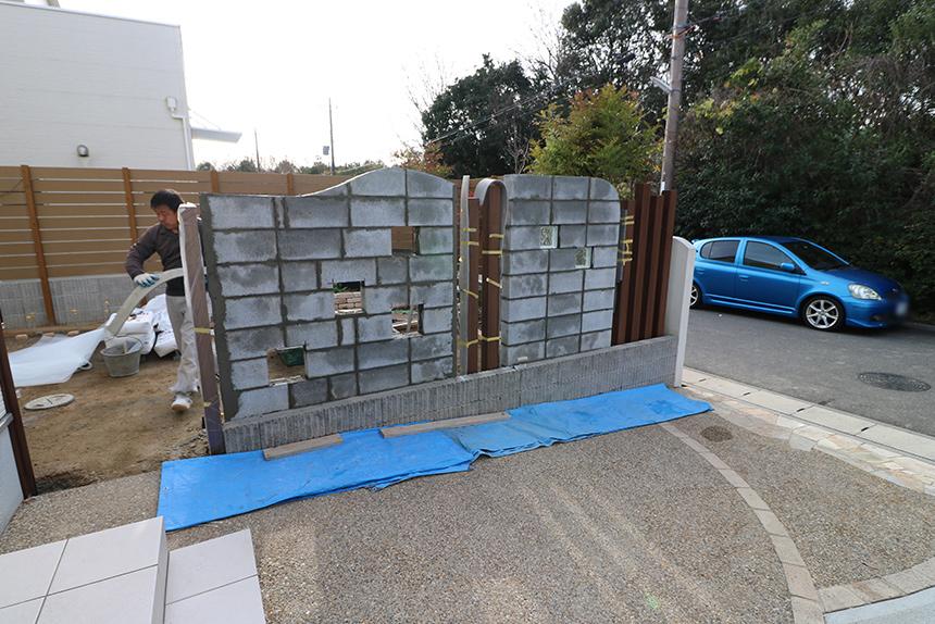 神戸市西区 T様邸の施工中写真2