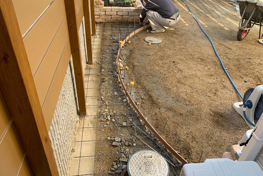神戸市西区 T様邸の施工中写真8