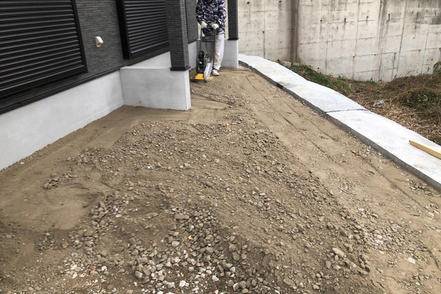 神戸市須磨区O様邸の施工中写真18