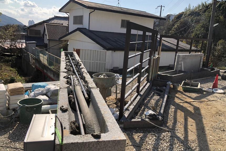 神戸市須磨区O様邸の施工中写真21