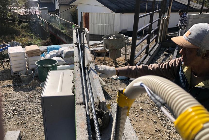 神戸市須磨区O様邸の施工中写真22