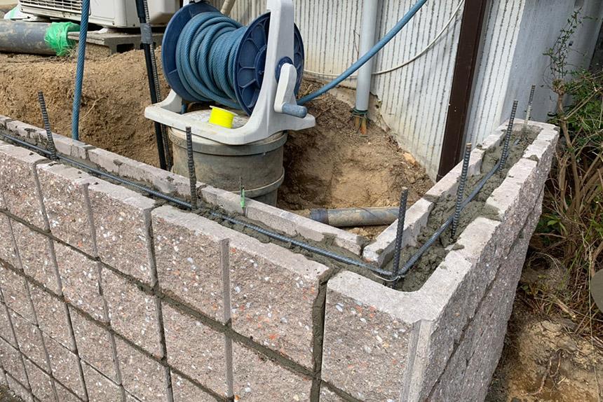 神戸市西区U様邸の施工中写真11